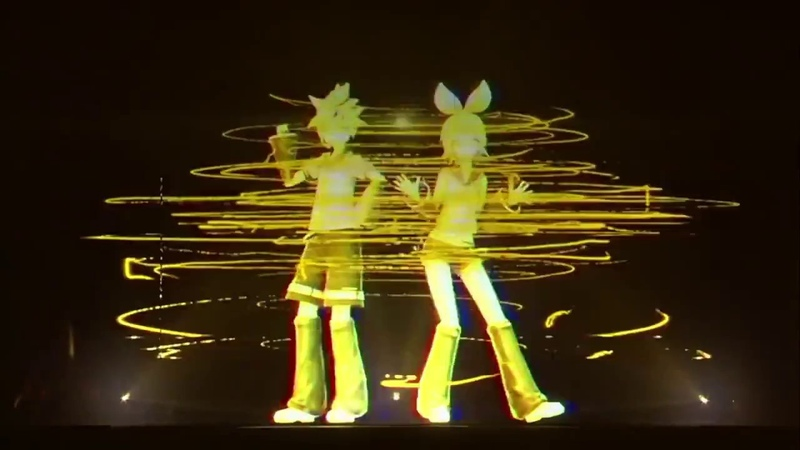 [Kagamine Rin Len] Remote Control [Live Concert ver.] EnglishRomajiMalay Sub