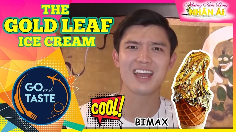 BiMax went to Japan to eat gold inlaid ice cream and $22 Oden 😲「GO AND TASTE」