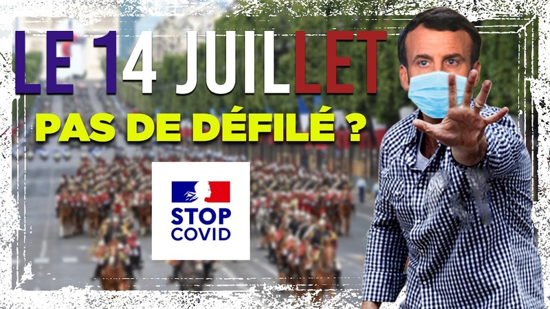 Le micro trottoir du Boulevard 13 Pas de défilé militaire le 14 juillet
