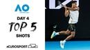 Top 5 shots - Day 4 Australian Open 2021 - Highlights Tennis Eurosport