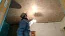 Один из приёмов покраски потолка из OSB. Часть-54