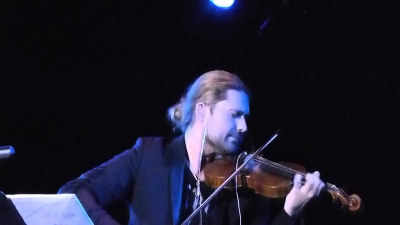 David Garrett Best Buy Theatre New York Nocturne Chopin 18 3 14