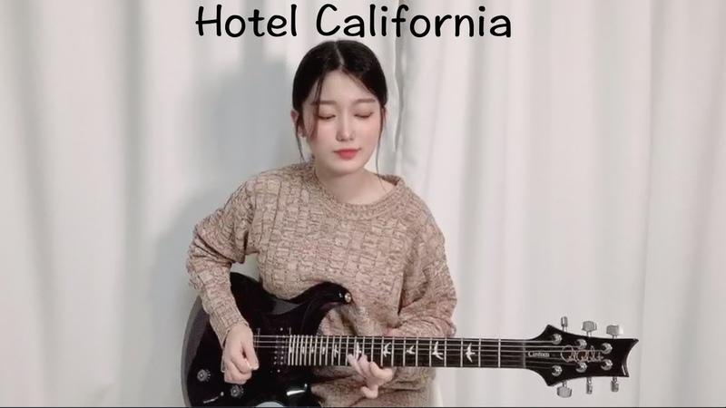 Eagles - Hotel California Guitar Cover by Yujin