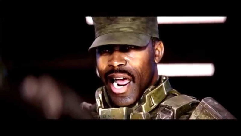 Halo 2 Anniversary Sergeant Johnson Oh I know What the Ladies Like Cinematic Cutscene