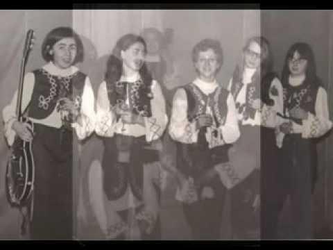 Девичья бит-группа Eglutės. Латвия (Песня о Каунасе). 1969 Фотоколлаж