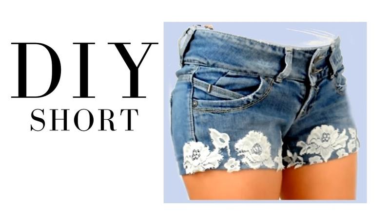 Como hacer unos shorts fácilmente DIY short jeans vaqueros TRANSFORMA TU ROPA 2