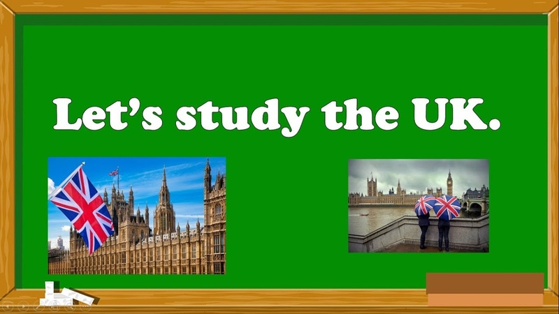 Lets study the United Kingdom