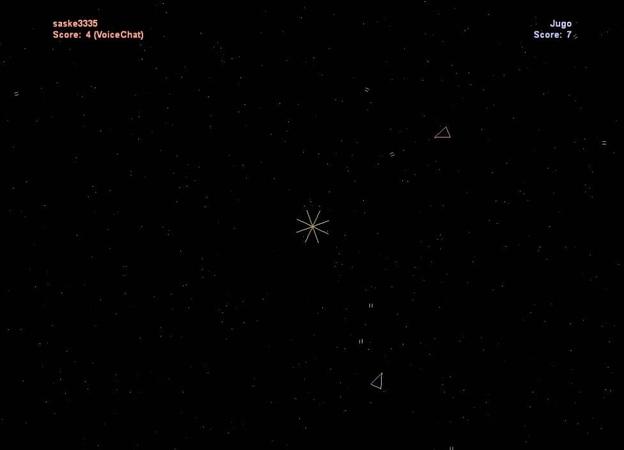 Играем в Spacewar через Steam online