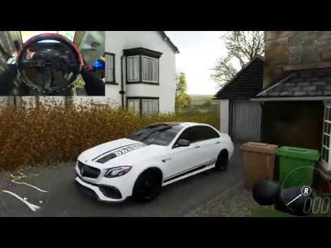 Forza Horizon 4 Mercedes E63S BRABUS 800 Steering Wheel g29 Gameplay