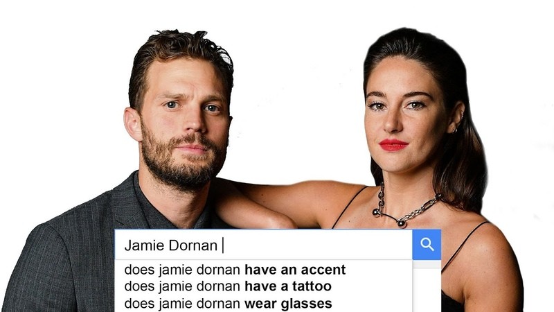 Jamie Dornan Shailene Woodley Answer the Web's Most Searched Questions WIRED