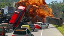 Highway Hell │Extreme BeamNG Drive Car Chase
