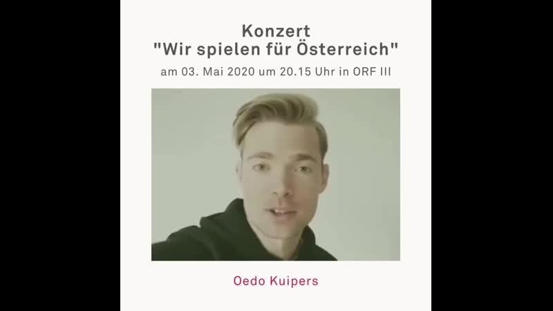 Oedo Kuipers Konzert Wir spielen für Österreich