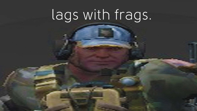 Lags with frags