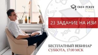 23 задание на ИЗИ в ОГЭ по математике 2020 | Тимур Матеш | Онлайн-школа Easy Peasy