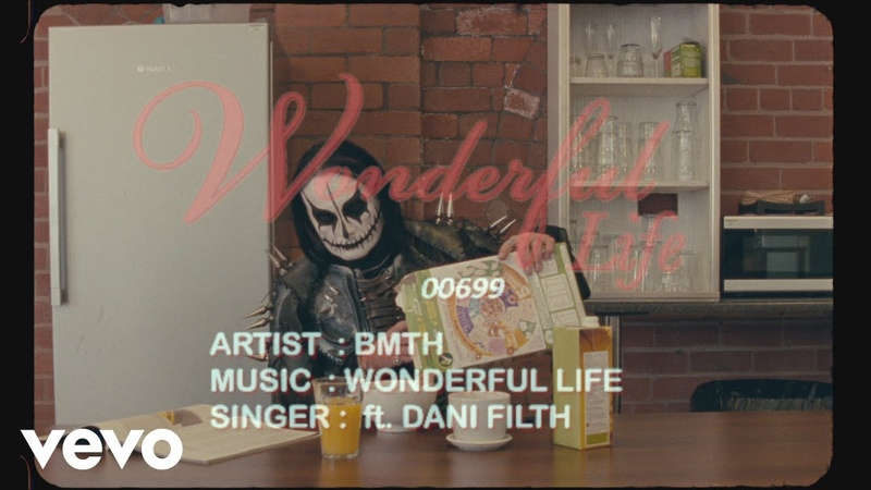 Bring Me The Horizon wonderful life Official Lyric Video ft Dani Filth