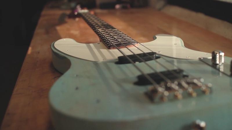 Creston Guitars bass demo with Lollar single coils
