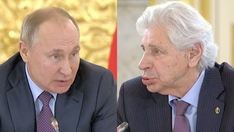 Генри Резник в лицо Путину раскритиковал российские суды Смелое выступление на заседании СПЧ