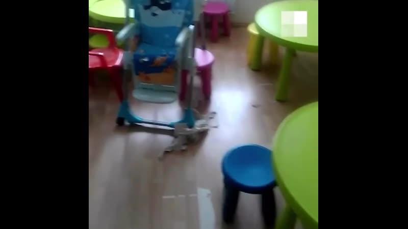 В Екатеринбурге отец пришел за своей маленькой дочерью в частный детский сад и был шокирован состоянием воспитательницы
