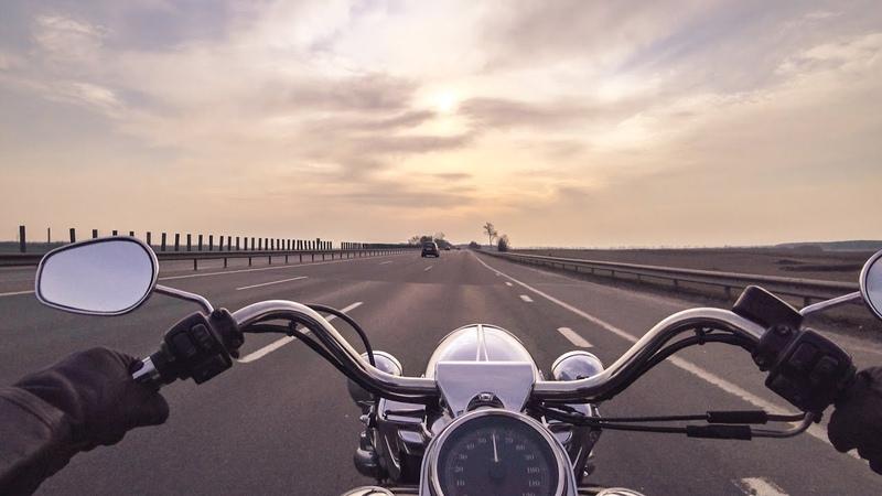 Harley Davidson Road King первый мото с управлением мыслью