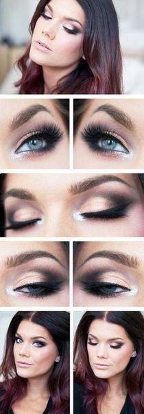 10 разнообразных идей макияжа на все случаи жизни! Сохрани на стену, чтобы не потерять!