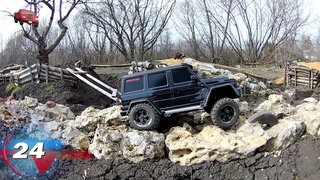 Spring adventures on the rc trophy track racing  , MUD !!!