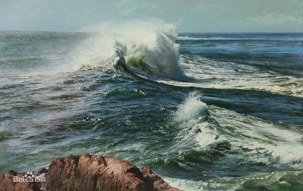 Ю Пуджи (Yu Pujie). Художник родился в 1943 году в городе Циндао провинции Шаньдун. Вся его жизнь прошла на берегу Желтого моря, что впоследствии и стало основной темой его творчества. С детства