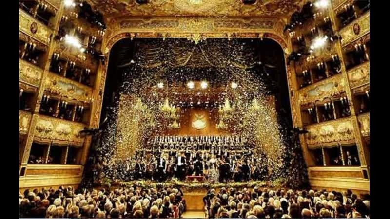 Concerto di Capodanno al Gran Teatro La Fenice Новогодний концерт в Театре Ла Фениче Venezia 2020