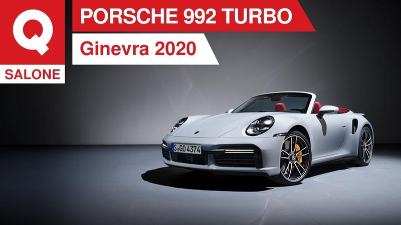 Porsche 911 Turbo S 650 CV e 0 100 in 2 7 Ginevra 2020