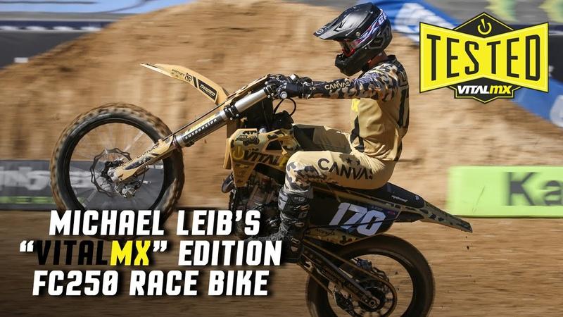 Tested Michael Leib's Vital MX FC250 Race Bike