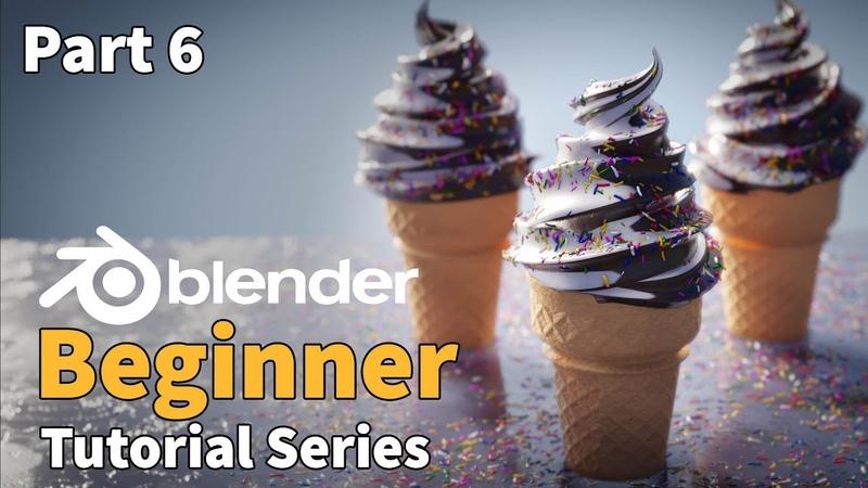 Blender 2.8 Beginner Tutorial - Part 6 EEVEE Rendering