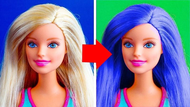 DIY Barbie Dresses | Making Easy No Sew Clothes for Barbie Dolls Fun for Kids Crafts Life Hacks