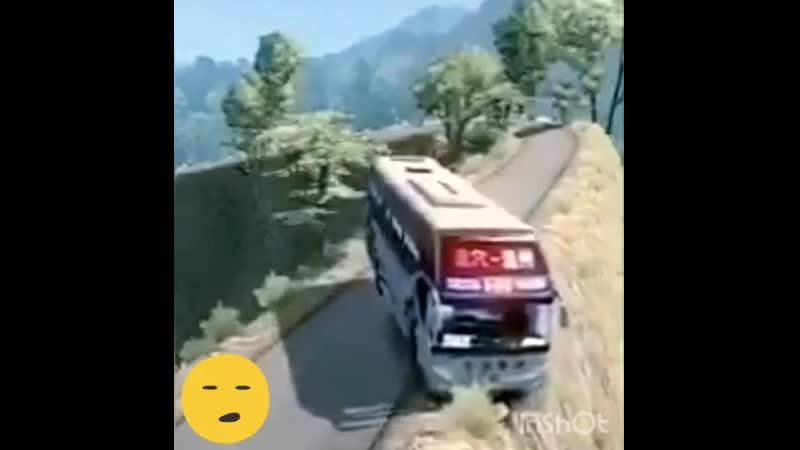 Крутой водитель автобуса