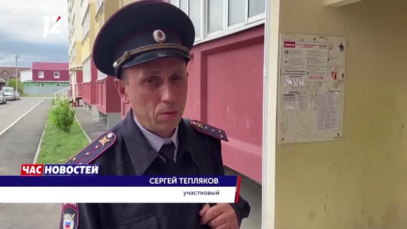 Омский участковый чудом выжил после нападения пьяного дебошира