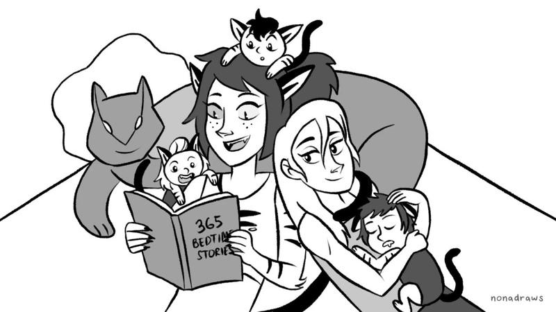 Catra Reads Tangled - She-Ra (Animatic)