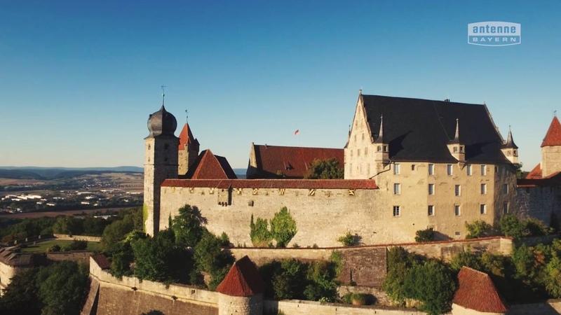 Coburg von oben ANTENNE BAYERN Bayern von oben