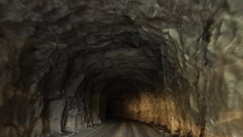 Straszny tunel w Norwegii