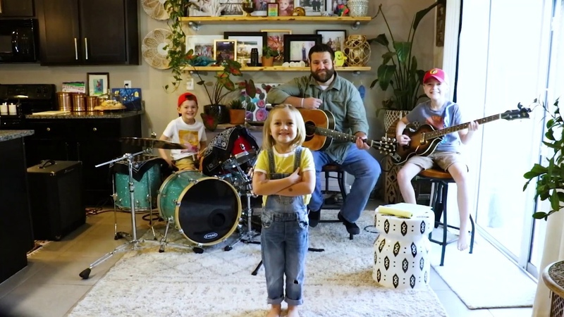 Colt Clark and the Quarantine Kids play We Can Work It Out an Outtake