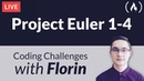 Project Euler Challenges 1–4 - Coding Challenges with Florin