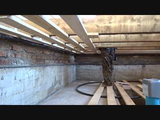 Деревянный пол своими руками. Часть 1__Пол в деревянном доме__Черновой пол