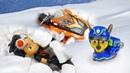 Щенячий Патруль игрушки и Расти Механик застряли в горах! Видео про игры - Время быть героем!