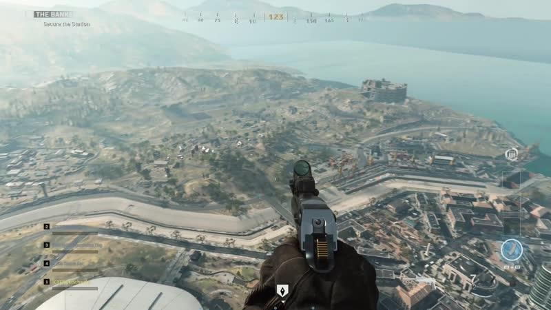 Video of Full Battle ROYALE Map. Modern Warfare