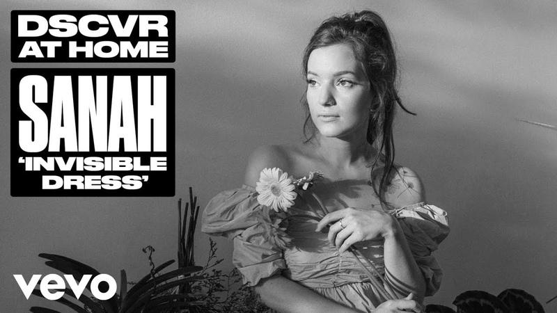 Sanah - Invisible Dress (Live) | Vevo DSCVR At Home