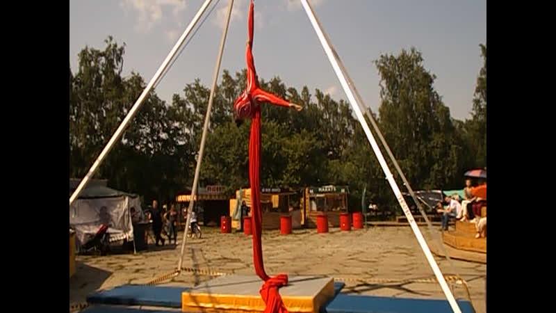 20 07 2019г г Кемерово Парк Антошка Фестиваль Воздушных гимнасток мои ролики